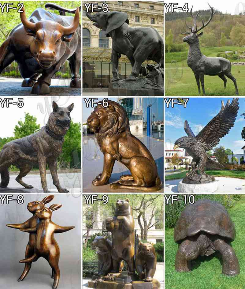 bronze eagle statues wholesale
