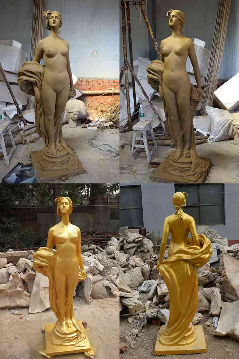 Bronze Nude Woman Statue for sale