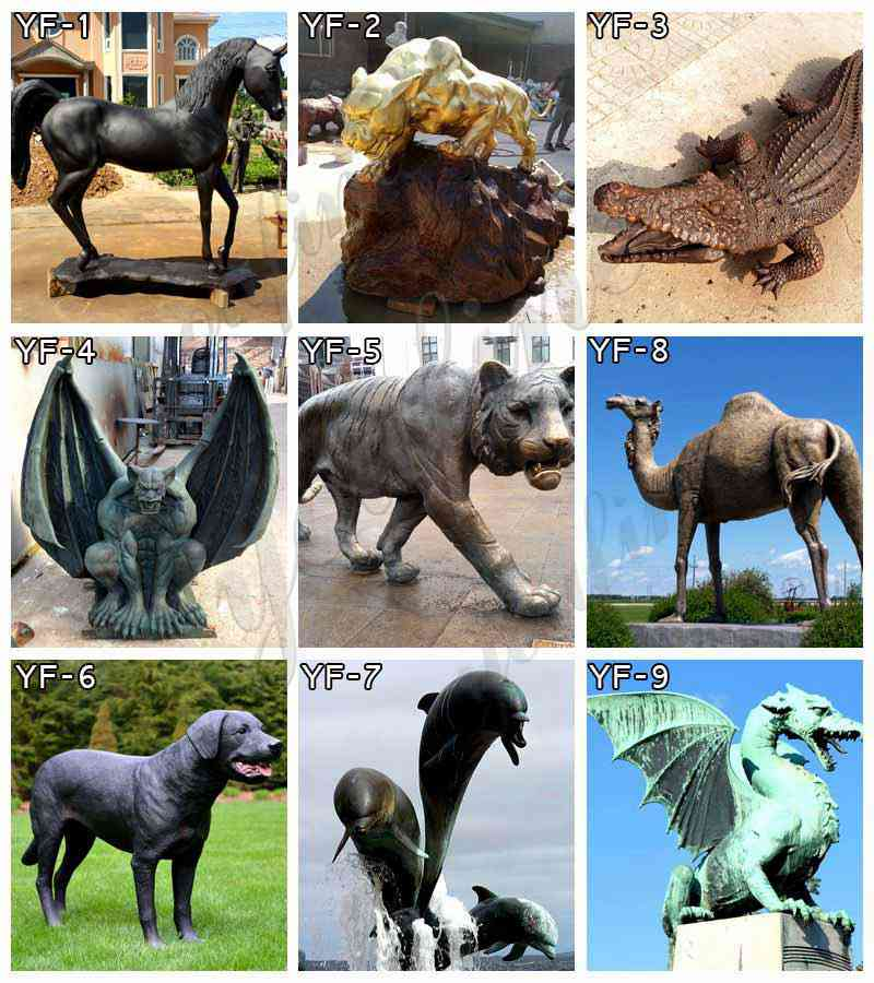 Bronze Wildlife Statue