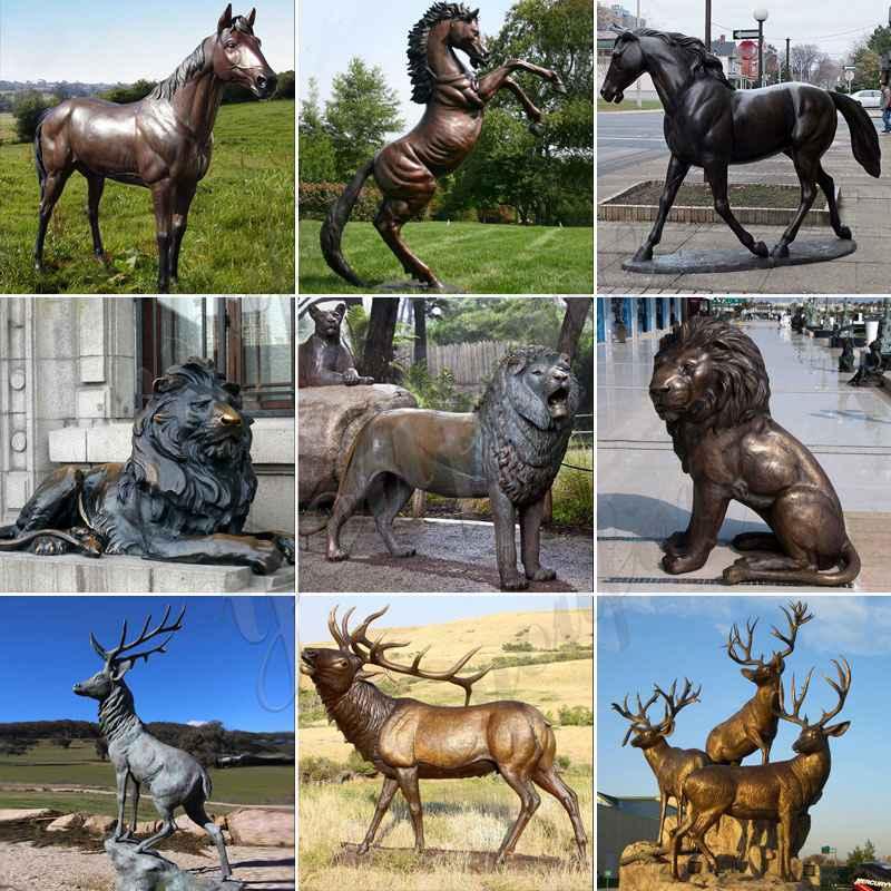 Bronze Wildlife animal Statue
