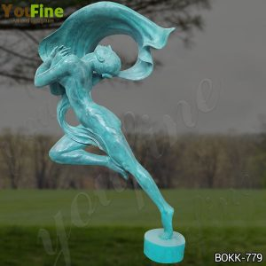 Custom Made Antique Bronze Dancing Girl Statue for Sale BOKK-779