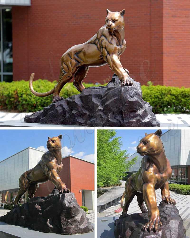 Life Size Bronze Leopard StatueSuppliers