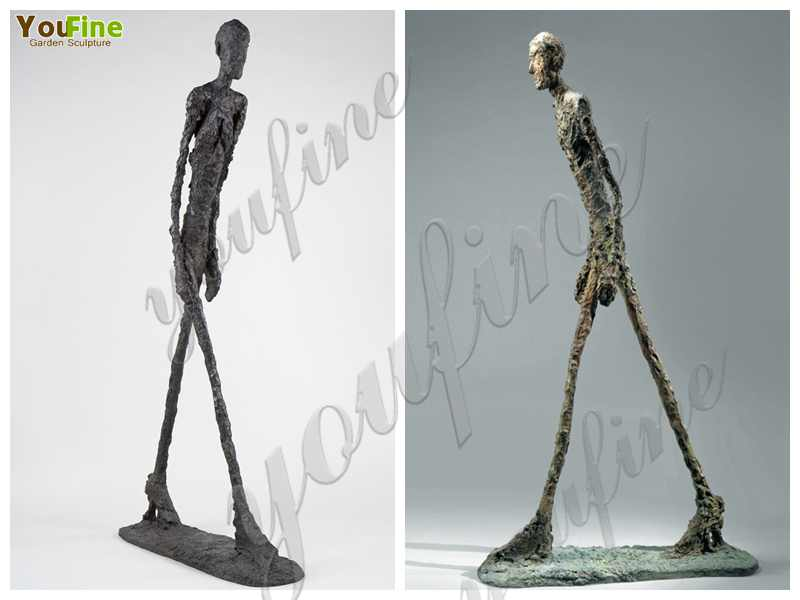 Bronze Giacometti Walking Man Sculpture for Sales