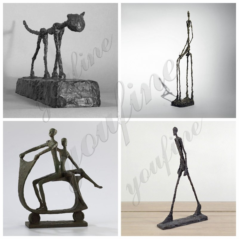 Bronze Walking Man Sculpture for Sale