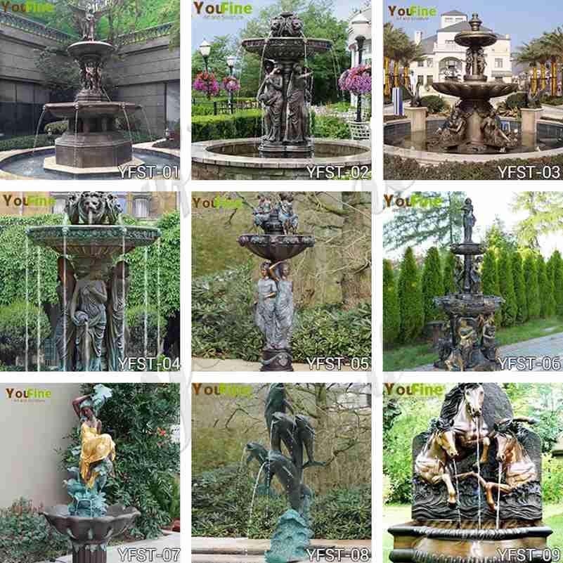Bronze fountain for sale