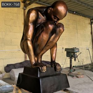 Antique Casting Bronze Nude Man Statue from Factory Supply BOKK-768