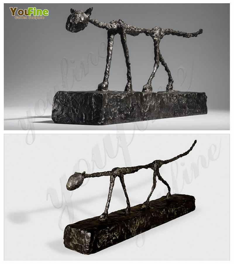 Giacometti's Bronze Sculptures for sale