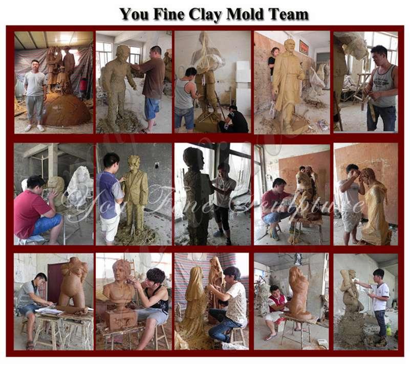 clay model studio
