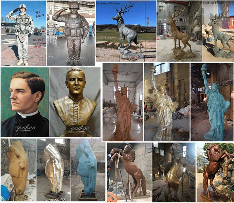 Famous bronze statue for sale