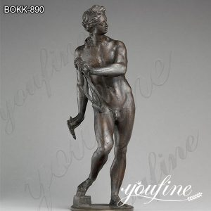 Classic Greek Apollo with Lyre Bronze Statue for Sale BOKK-890