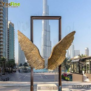 Modern Wings of Mexico Bronze Sculpture for Park Suppliers BOKK-885