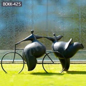 Outdoor Abstract Bronze Grosse Female Figure Statue for Sale BOKK-425