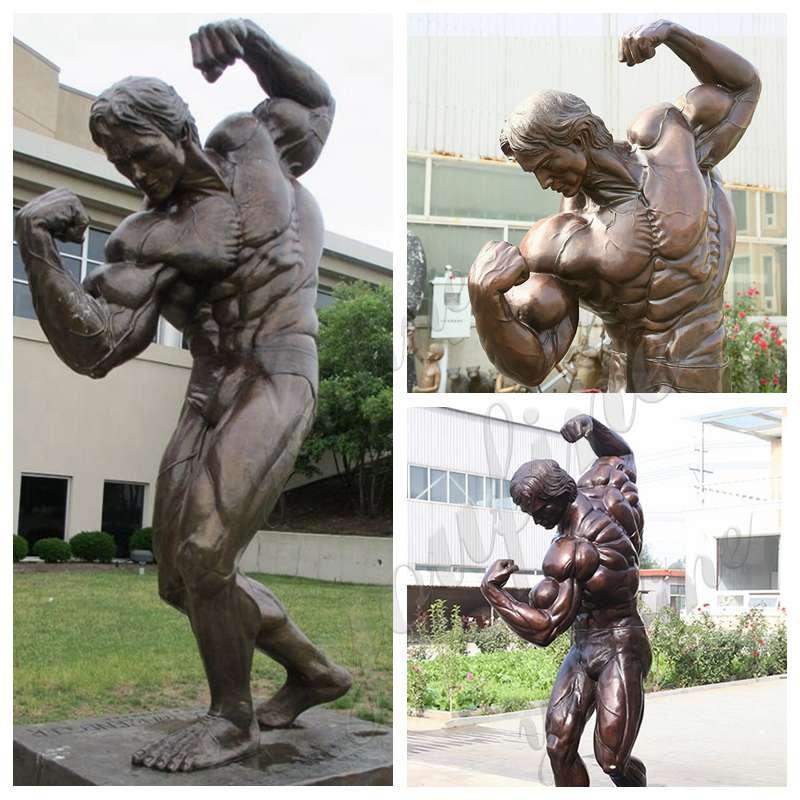 Bronze Arnold Schwarzenegger Statue