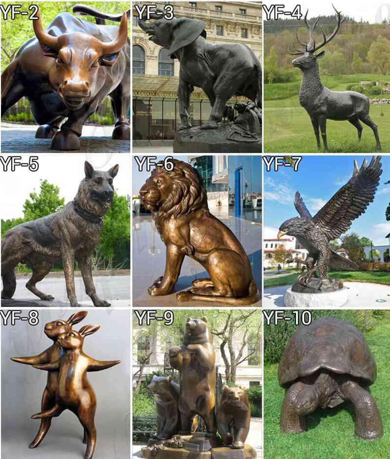 Bronze cat statue for sale