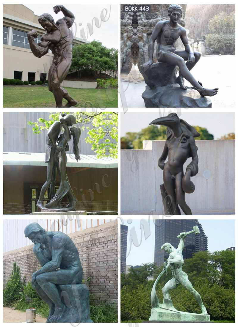 Classic bronze sculpture for sale