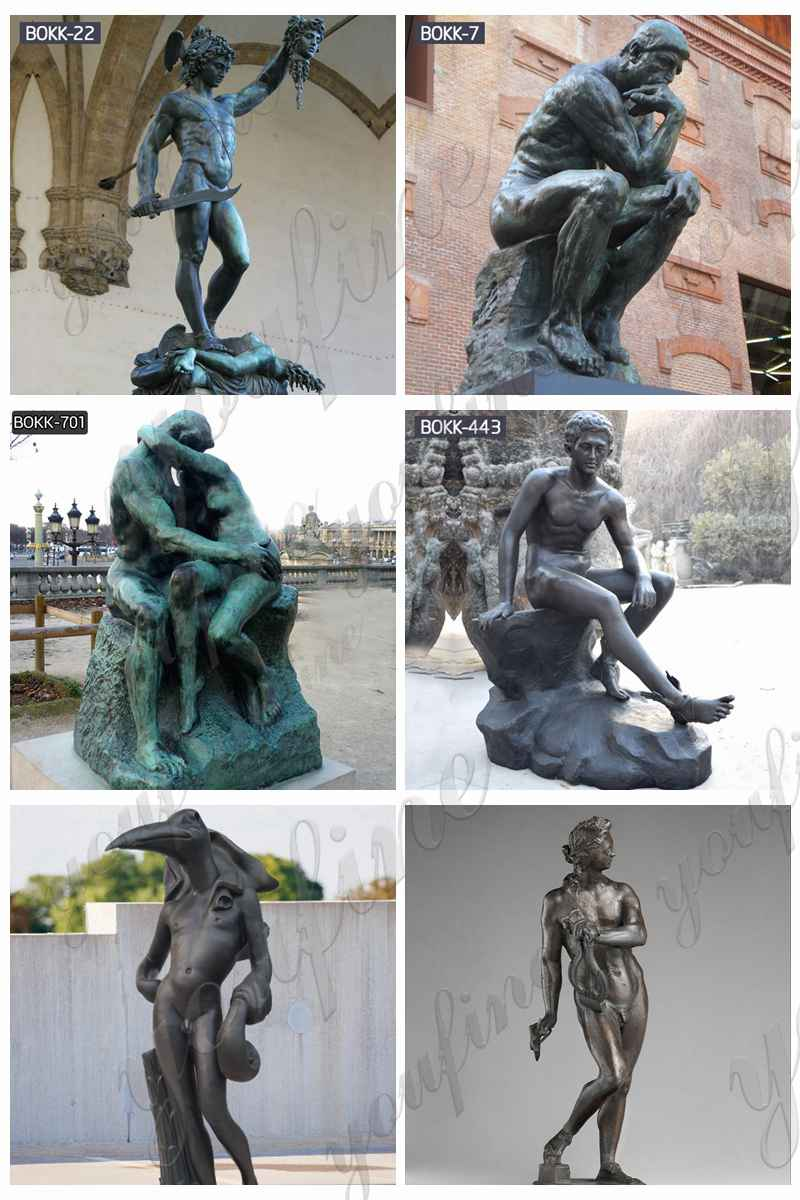 Custom Made Life Size Bronze Statue Suppliers