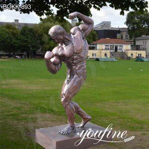 Outdoor Large Bronze Arnold Schwarzenegger Statue for Sale BOKK-893
