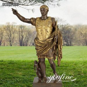 Famous Augustus Caesar Bronze Sculpture by Barbedienne for Sale BOKK-899