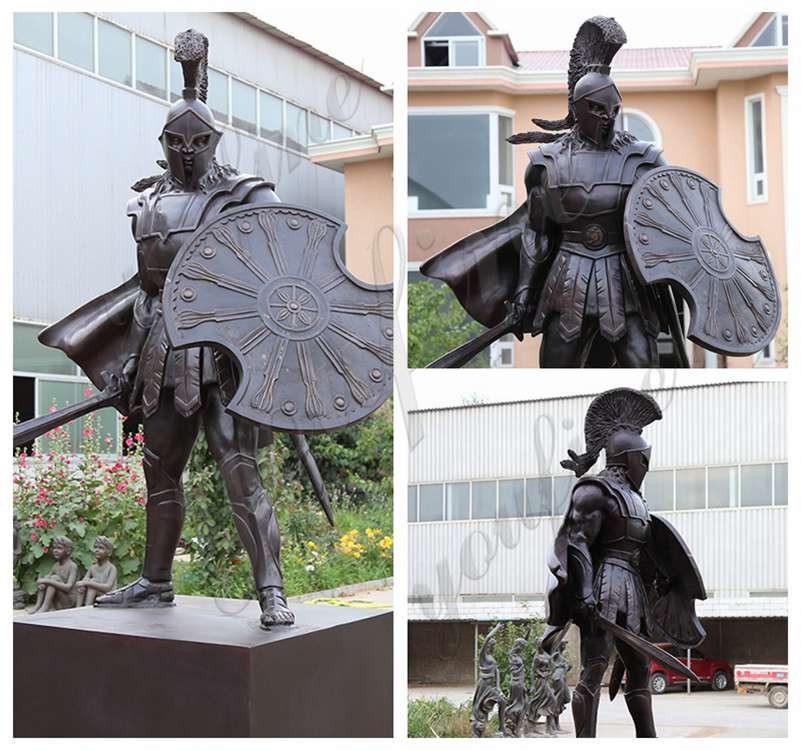 Bronze Spartan Warrior Statuefor Sale