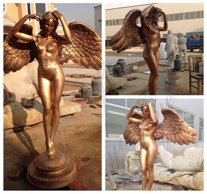 Dancing Angel Bronze Sculpture for Sale