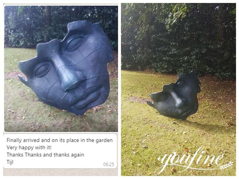 Mitoraj sculpture