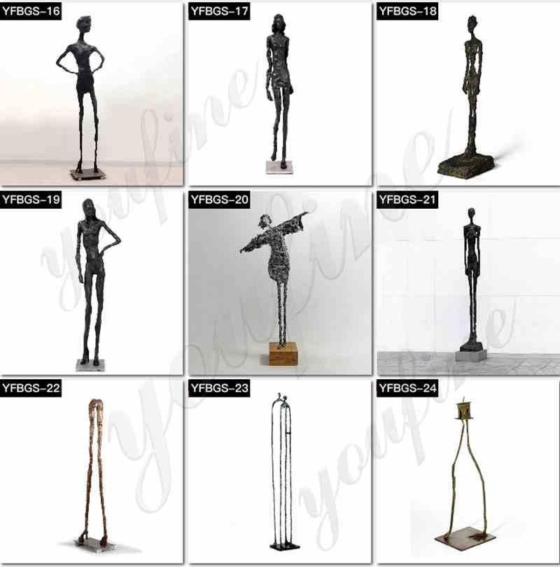 Famous Giacometti Sculpture for Sale