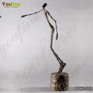 Famous Life Size Bronze Falling Man Sculpture Giacometti Sculpture for Sale BOKK-882