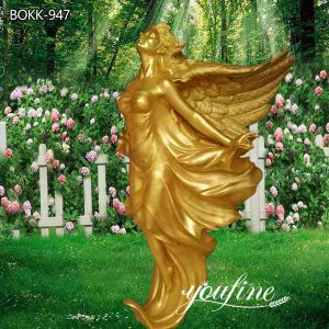 Grand Hotel Life Size Bronze Garden Angel Statue for Sale BOKK-947