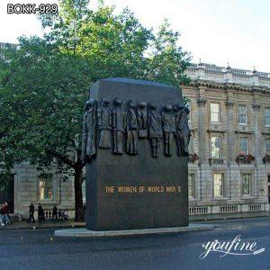 Casting Bronze Monument Custom Design World War II Women Statue BOKK-929