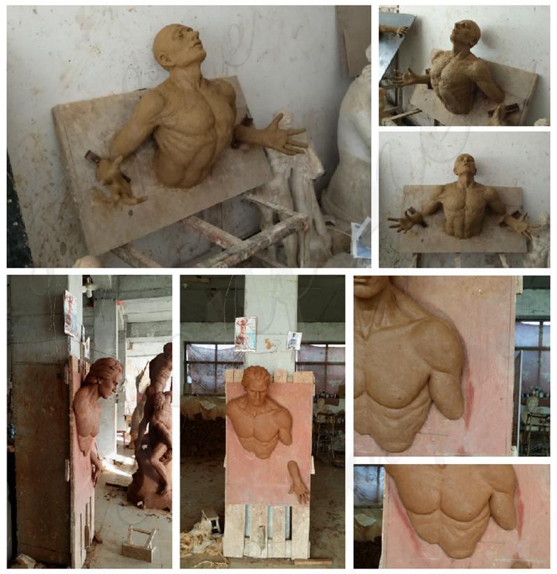 bronze figure statue