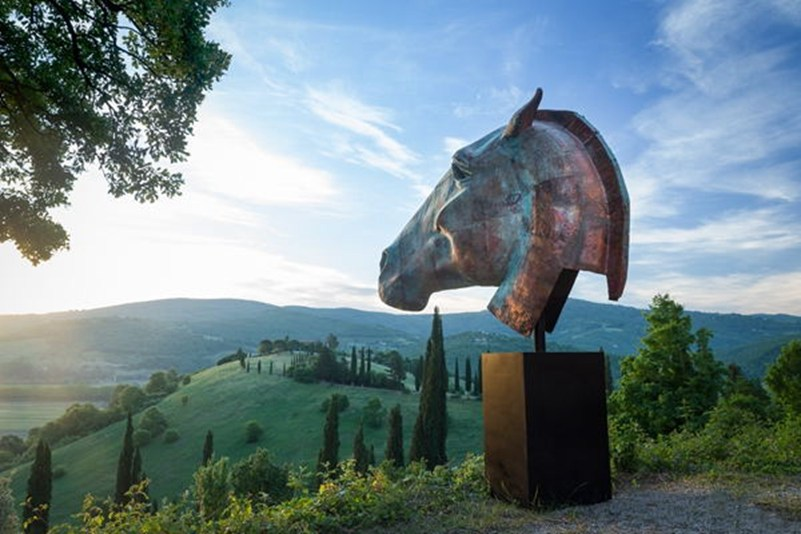 large bronze horse statues for sale