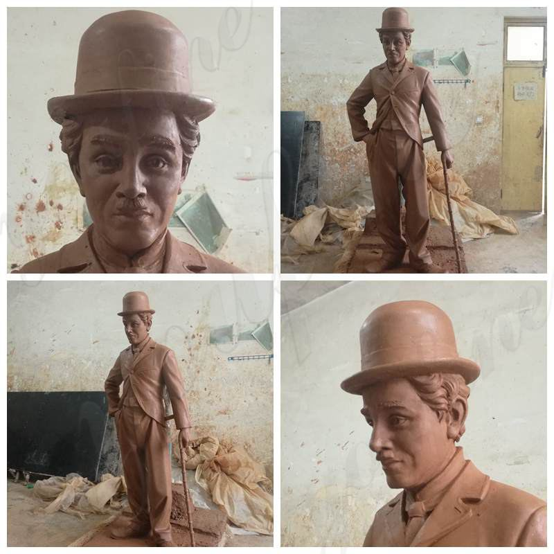 Bronze Chaplin Statue