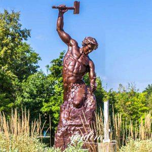 Custom Bronze Self Made Man Statue Replica for Sale BOKK-592