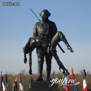 Rainbow Division Sculpture Bronze Soldier Statue for Sale BOKK-908