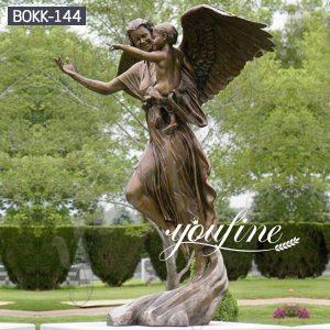 Classic Bronze Angle StatueChina Factory for Sale BOKK-144