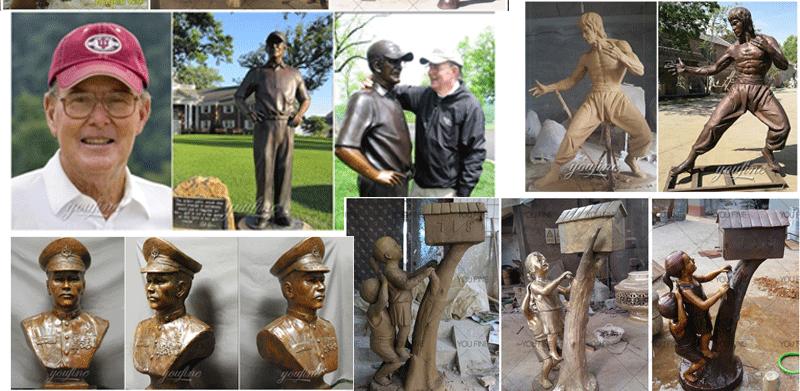 musician sculptures