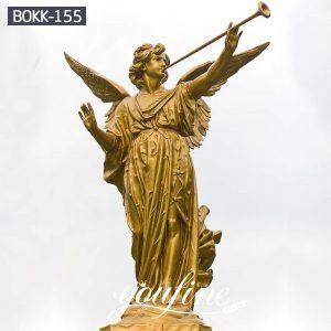 Large Garden Bronze Gabriel Angle Statue for Sale BOKK-155