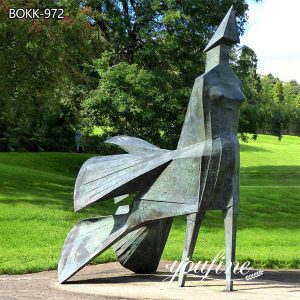 Outdoor Modern Bronze Lynn Chadwick Sculpture for Sale BOKK-972