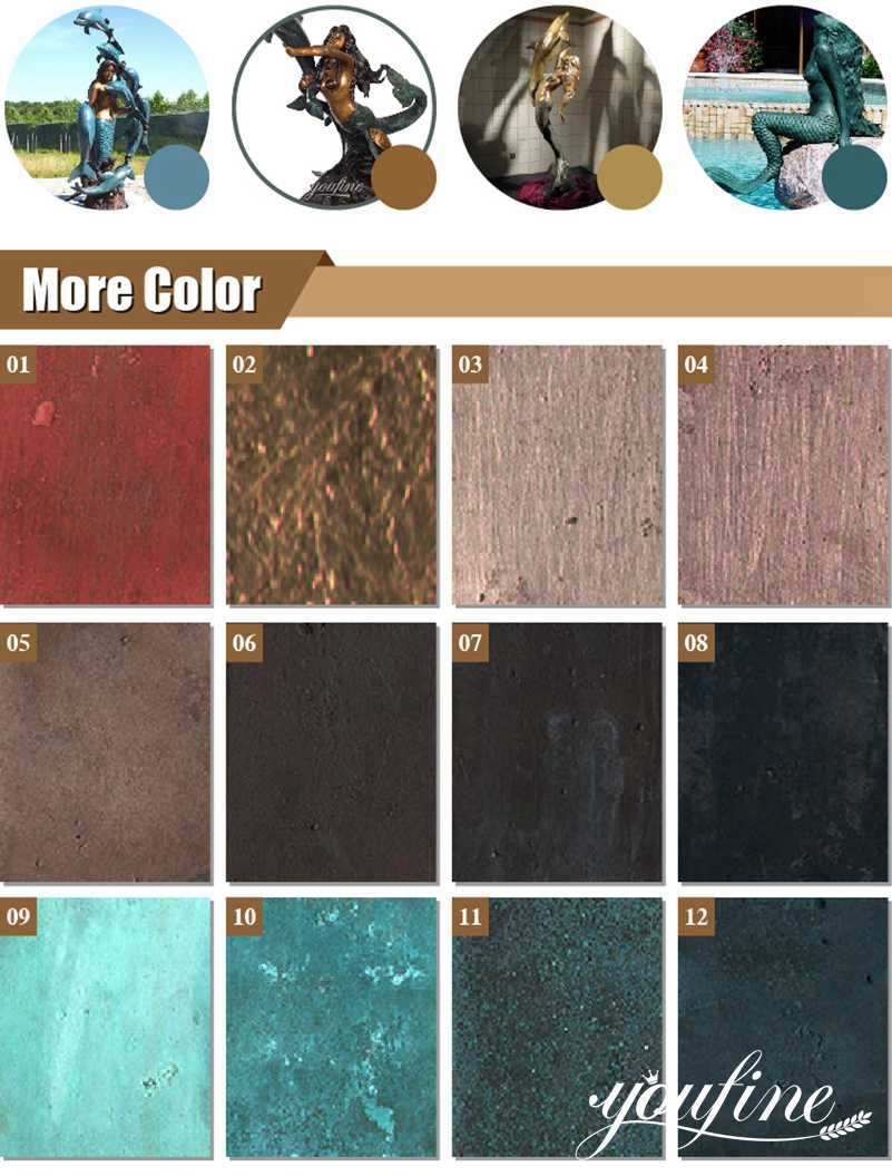 bronze colors choice