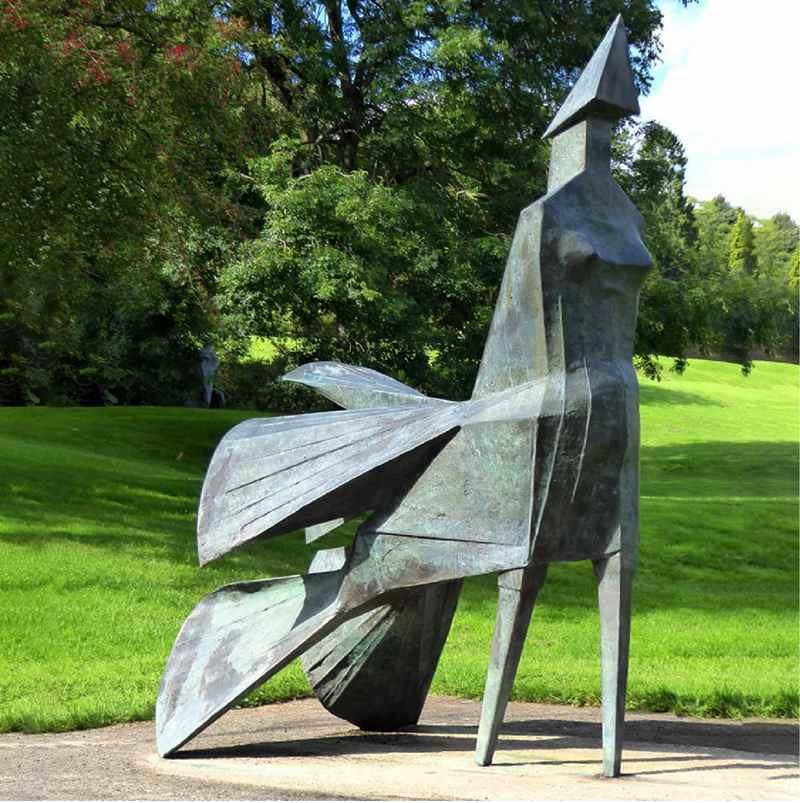 life size bronze sculpture