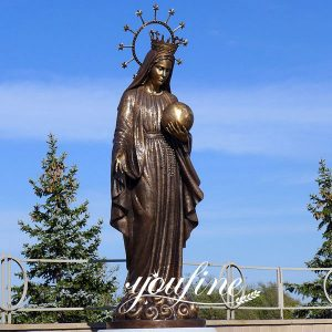Casting Bronze Mary Statue Church Decoration for Sale BOKK-634