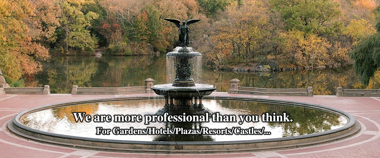 Giant Bronze Fountain