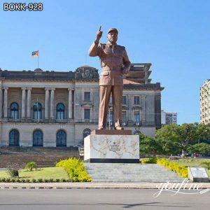 Large Size Bronze Figure Statues Samora Machel Custom Design BOKK-928