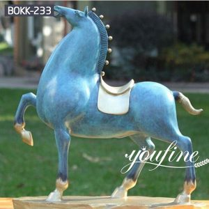 Bronze Tang Horse Statue Garden Decor for Sale BOKK-233