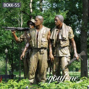 Hot Sale Bronze Statue The Three Soldiers Vietnam Veterans BOKK-55
