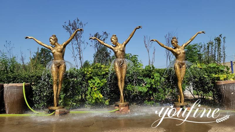 bronze statues fountain for sale