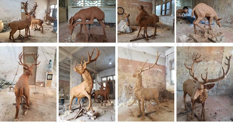 Elk Statues