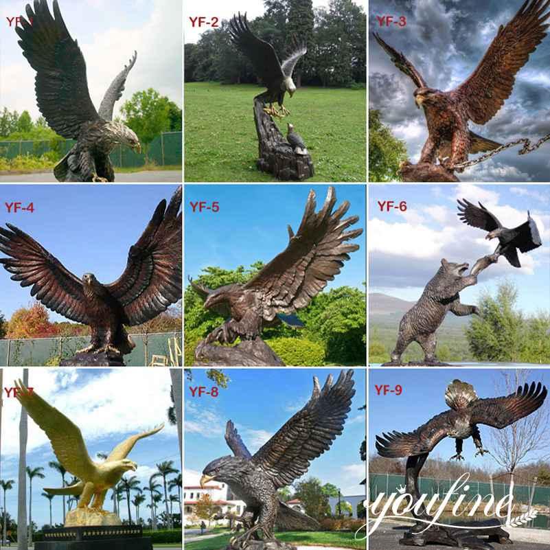 large bronze animal statues