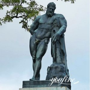 Life Size Bronze Hercules Statue Custom Design for Sale MOKK-995