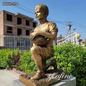 Bronze Boy Sculpture Custom Statue from Photo on Sale BOKK-994